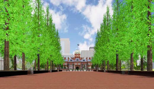 札幌市公認の仮想(バーチャル)空間オープン アカプラをバーチャル空間で表現