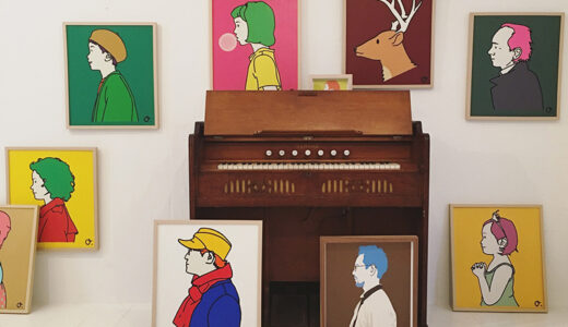 ザノット札幌で美術作家・岡美里さんによる「横顔かきます」イベント 受注会も開催