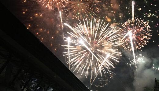 さっぽろばんけいスキー場で「夏まつり大花火大会」 音楽に合わせた花火を演出