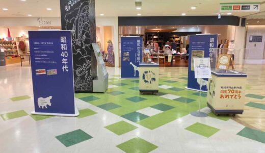 札幌・マルヤマクラスで「円山動物園70周年歴史パネル展」 アニマルメニューの提供も
