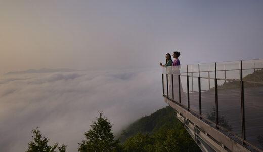 北海道・トマムの「雲海テラス」がリニューアルオープン 展望デッキを広く改装