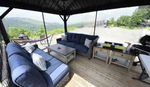 旭川にグランピングエリア「GlampingHill A-GATE」オープン トレーラーハウスを宿泊施設として利用